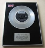 DRIFTERS - SAVE THE LAST DANCE FOR ME PLATINUM Single Presentation Disc